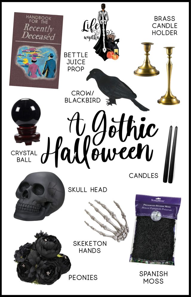 Gothic Inspired Decor