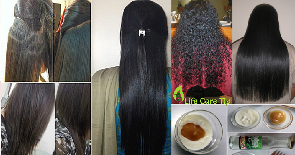 Best Home Remedy For Sleek Straight Hair To Get Straight