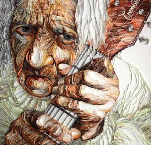 quilling-human-face