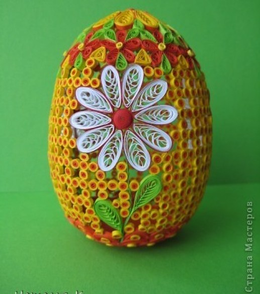 egg-quilling