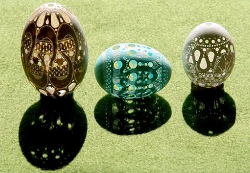 Incredible Egg Art By Slovenian Artist Franc Grom