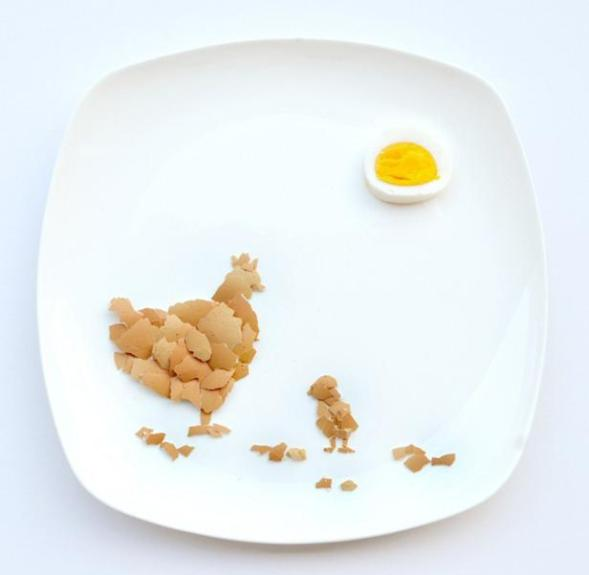 chicken-food-art