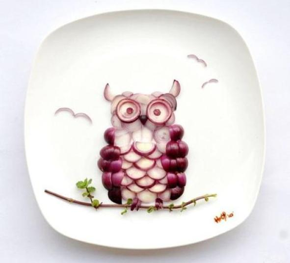 owl-food-art