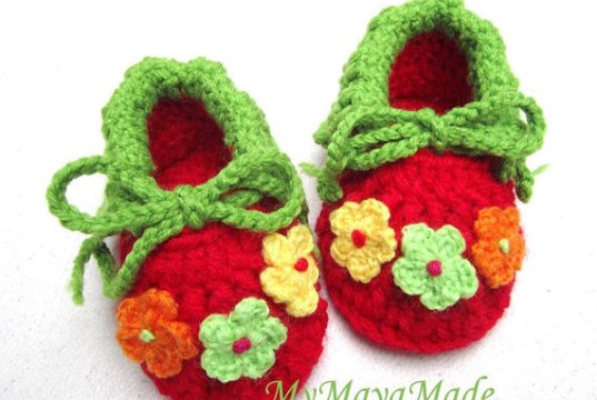 crochet-baby-booties-beginners