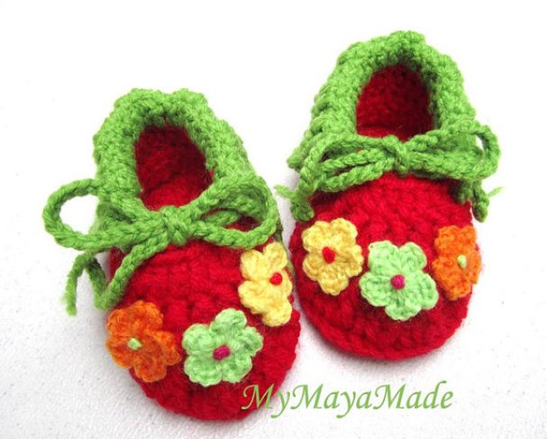 crochet-baby-booties-beginners