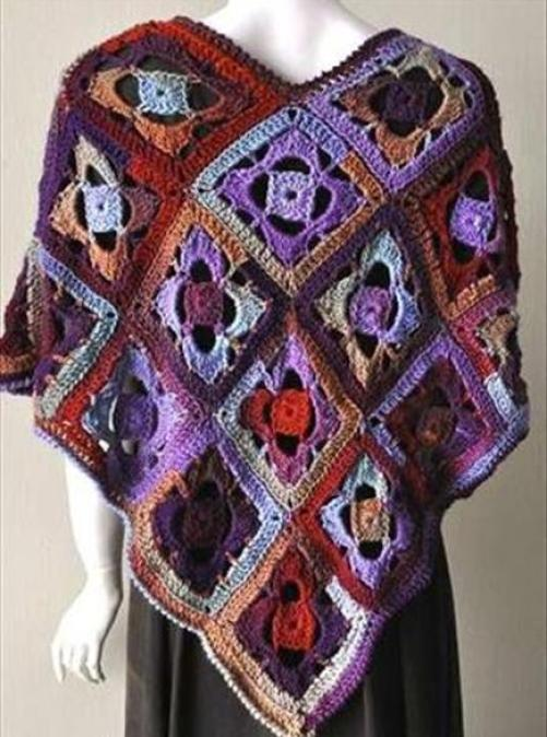 crochet-poncho-designs