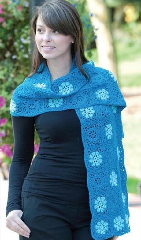 crochet-shawl-easy