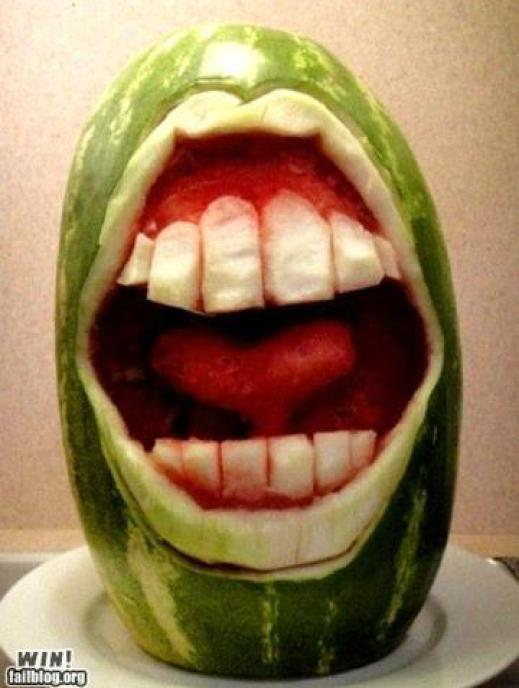 watermelon-carving-mouth