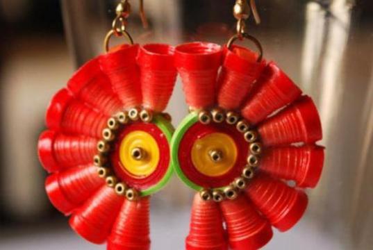 paper-earrings