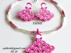 quilled-necklace