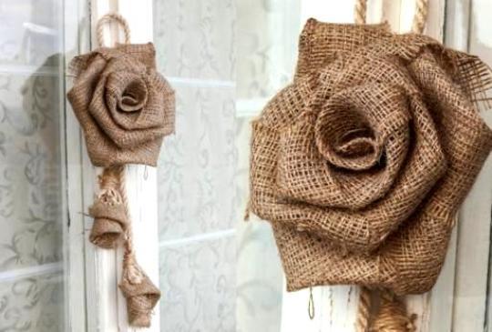 burlap-rose