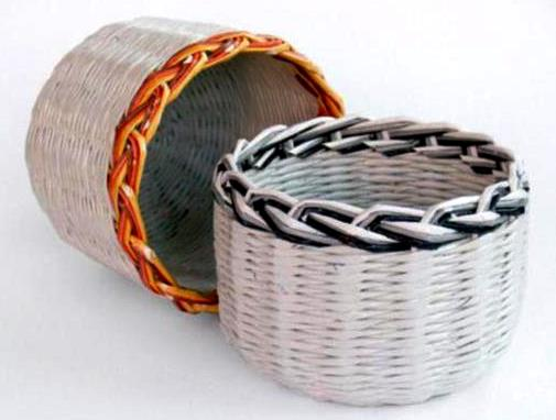 DIY Recycled Magazine Basket Ideas