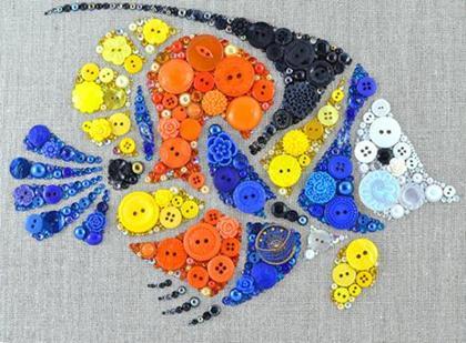 Diy Button Craft Ideas By Joanna