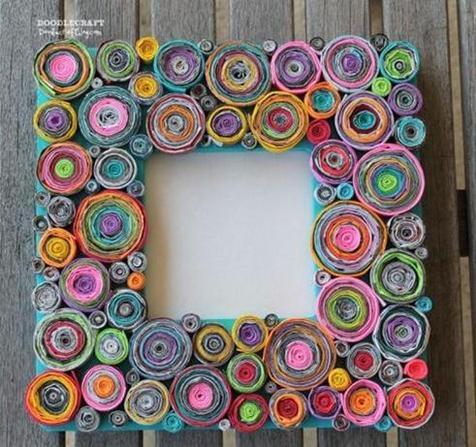 Amazing DIY Photo Frame Ideas