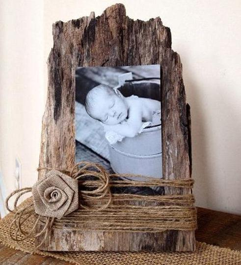 burlap-photo-frame-diy
