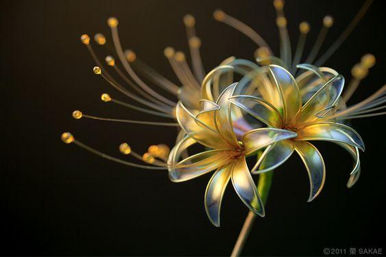 Beautiful Resin Flowers By Kanzashi Artist  Sakae