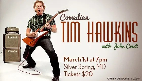 Tim Hawkins Comedy Night