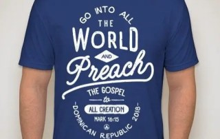 Missions Shirt Fundraiser