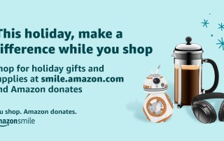 Shop at Amazon and Amazon donates to Life Church Calvert