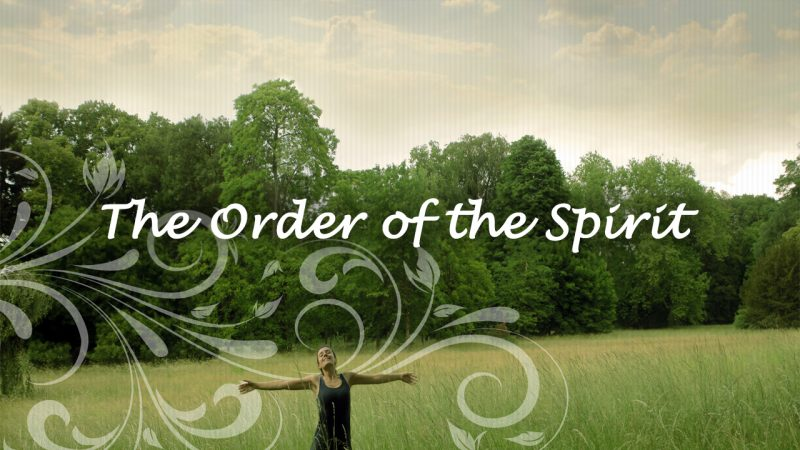the order of the spirit