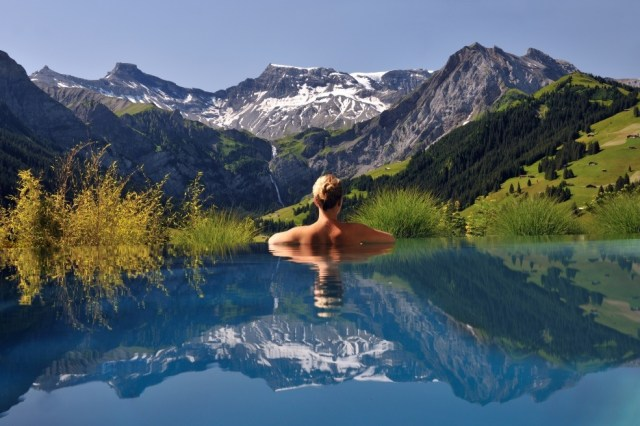 The Cambrian Hotel in the Swiss Alps