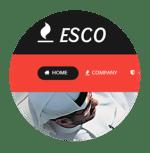 تصميم-موقع-لشركة---esco
