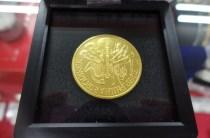 純金オーストリア ウィーン金貨(1/25oz) K24