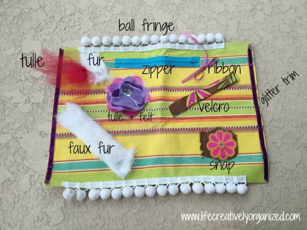 Dementia patients can show quirky new impulses as the disease progresses. I created an easy DIY dementia busy mat that helped my mother-in-law stay occupied