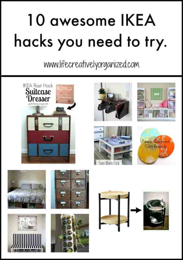I am a DIY/crafty girl, but these people have taken Ikea hacks to a whole new level and I just want to share these awesome ideas with you, too. So here we go - 10 of my favorite unique Ikea hacks - enjoy!