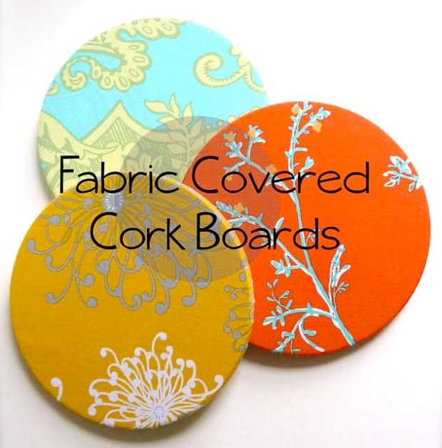 10 awesome Ikea hacks you need to try - fabric covered cork boards
