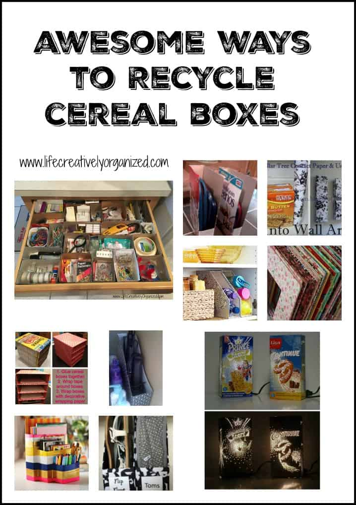 Awesome ways to recycle cereal boxes - LIFE, CREATIVELY ...