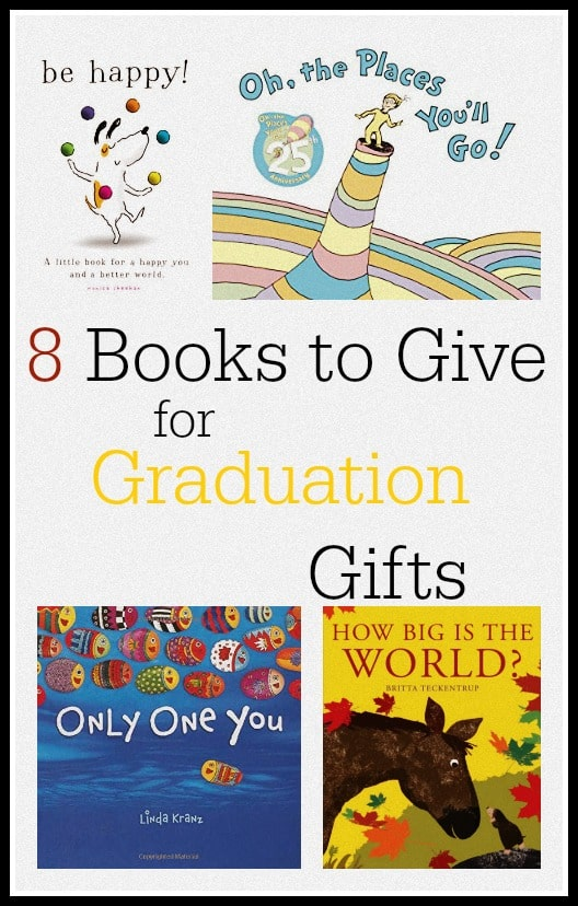 10 awesome graduation gift ideas! Inspiring books to give your graduate