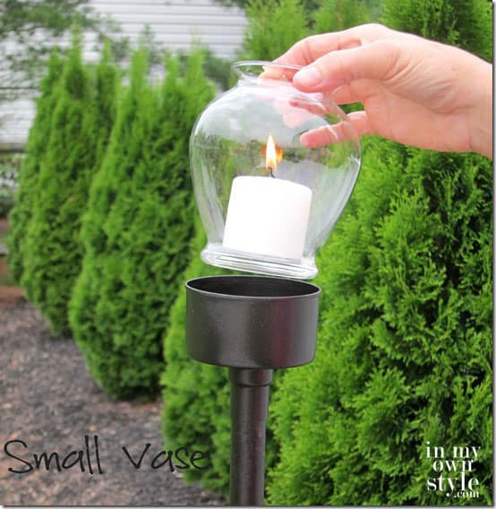 Outdoor decorating - DIY light