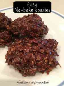 Looking for easy no-bake cookies? Chocolate, oatmeal, peanut butter - what's not to love? This is my hubby's recipe. Try it - quick & easy & oh so yummy!