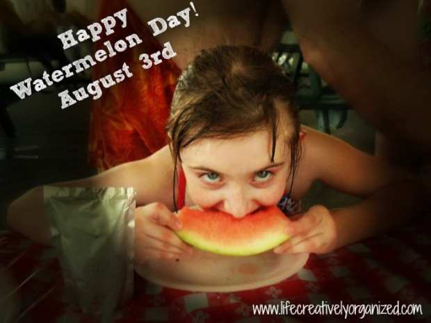 Happy Watermelon Day!
