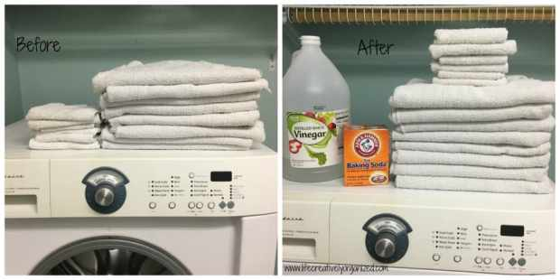 Have your towels seen better days? Not as soft or absorbent as when you first got them? Don't go buy more. You can refresh those old towels easily at home!