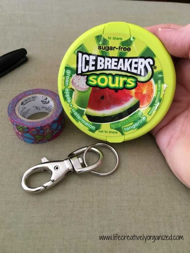 Are your ear buds tangled up in knots? Wish you had an easy way to keep 'em handy? Here's how to make a cheap, easy DIY ear bud case, and you get candy too!