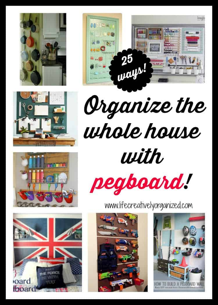 Get your craft room organized! - LIFE, CREATIVELY ORGANIZED