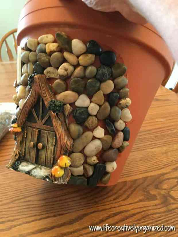 Whimsical Diy Fairy House Planter Life Creatively Organized