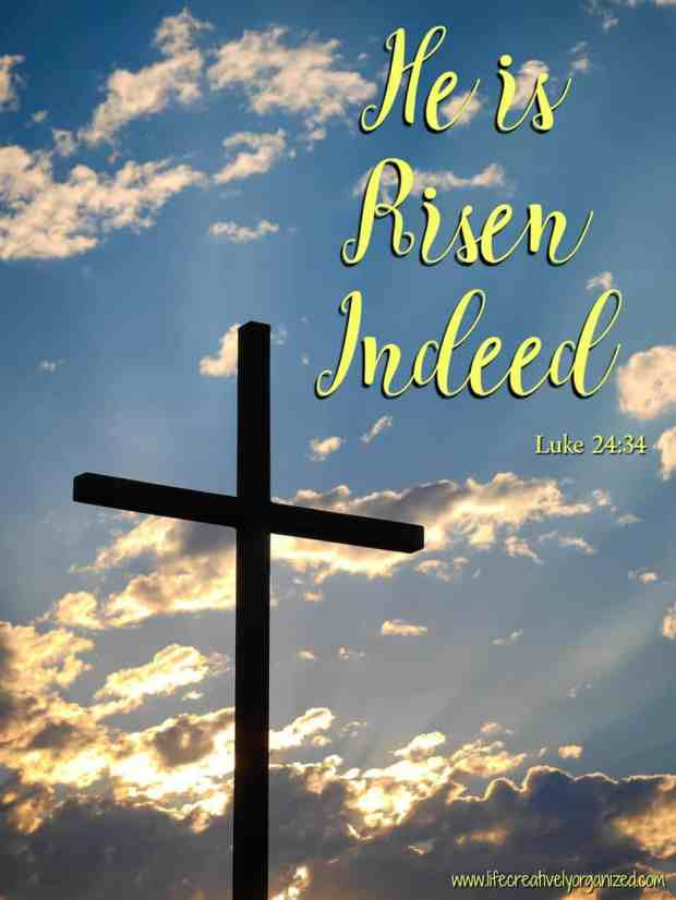 Happy Easter - He is risen indeed