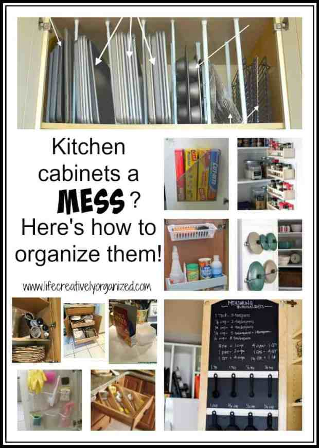 Kitchen cabinets a mess here 39 s how to organize them Best way to organize kitchen cabinets and drawers
