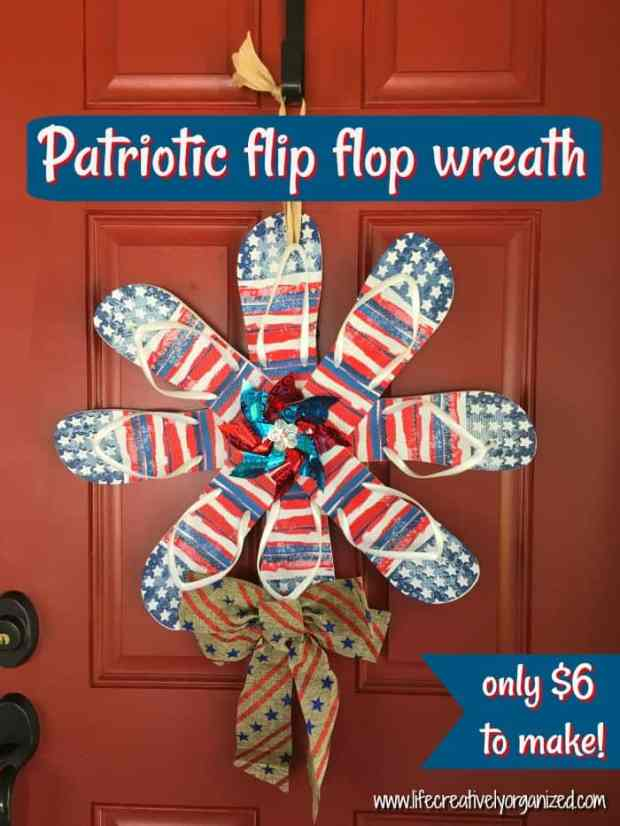 10 Gorgeous Yet Easy Patriotic Wreaths Life Creatively Organized
