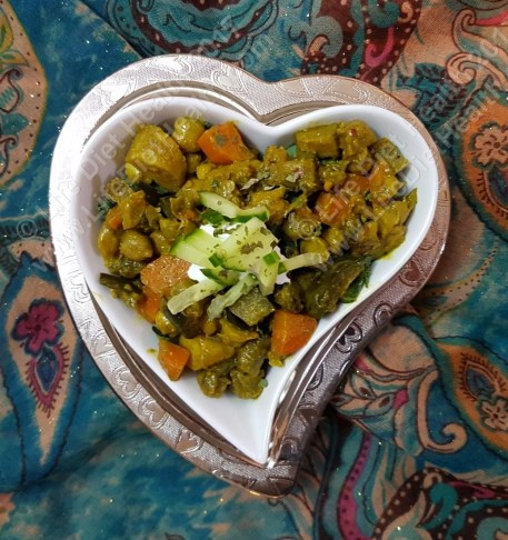 Quick curried veg (5)