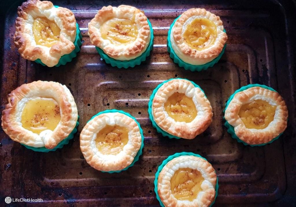 fresh fromthe oven egg custard tarts