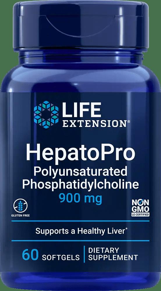 HepatoPro (Polyunsaturated Phosphatidylcholine), 900 mg, 60 softgels