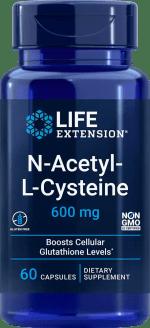 N-Acetyl-L-Cysteine, 600 mg, 60 vegetarian capsules