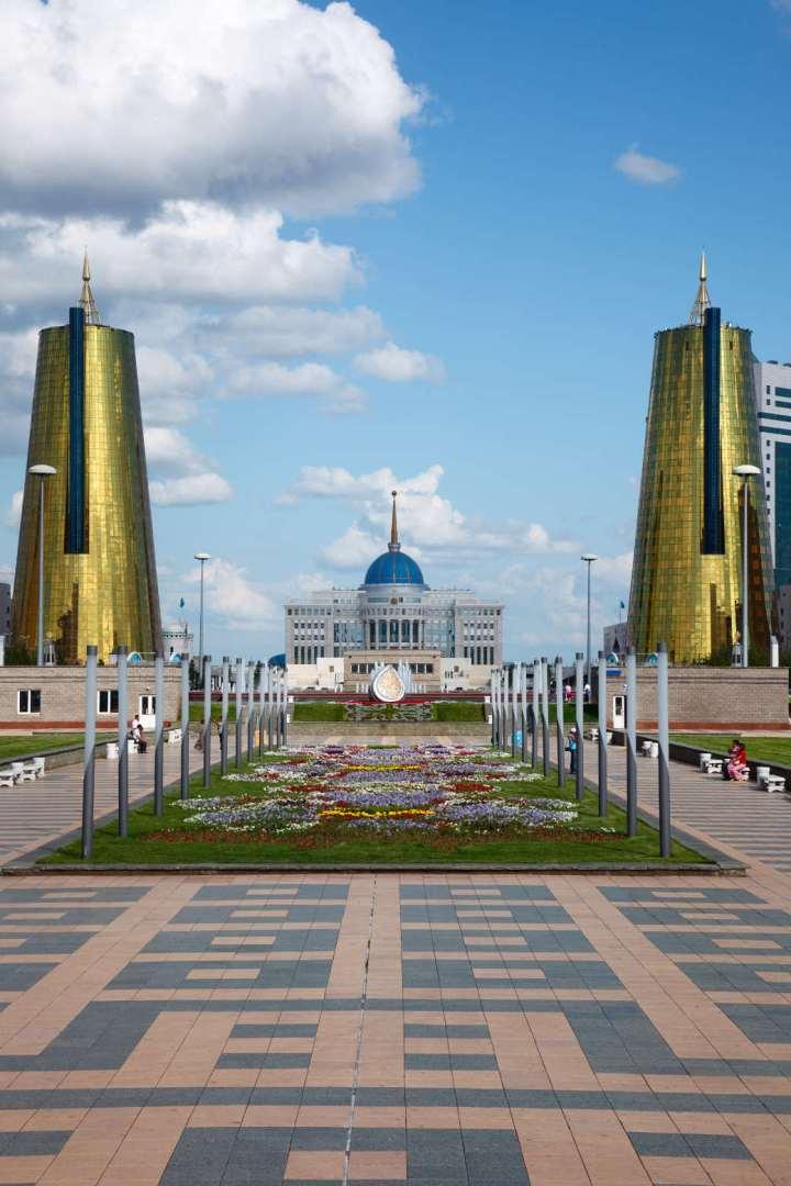 La casa del presidente ad Astana | Numerosette Magazine
