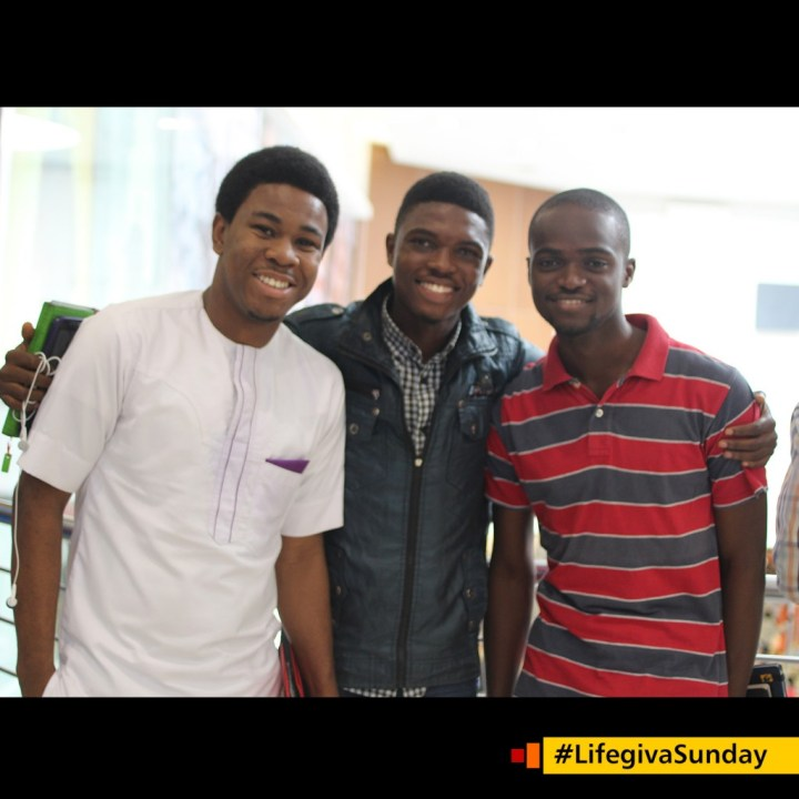 """Dayo Daini """"I learnt how easy it is to flow in spiritual gifts and I intend practiseries this week. I was blessed."""" #LifegivaSunday"""