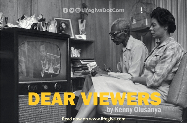 DEAR VIEWERS