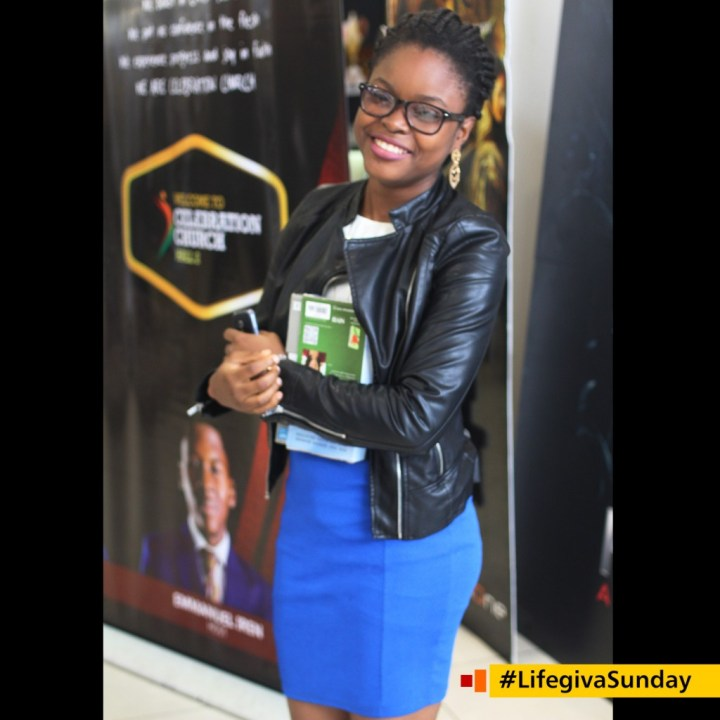 God is not like your chick your relationship with Him is not based on feelings but by faith _ @chica_f8 #LifegivaSunday